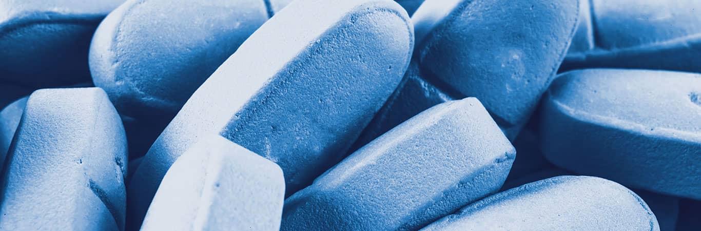blue prep pills