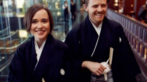 Gaycation Ellen Page and Ian Daniel in Japan