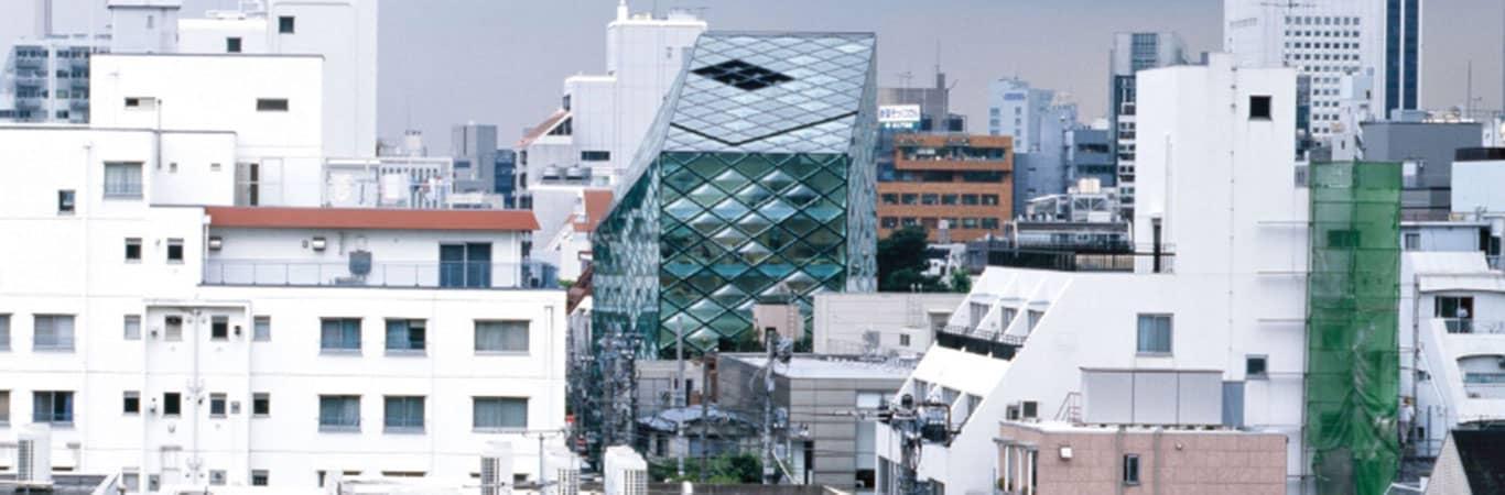 Prada Tokyo glass store