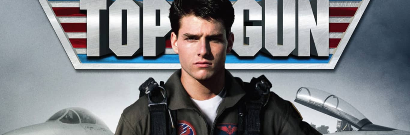 Tom Cruise Top Gun poster