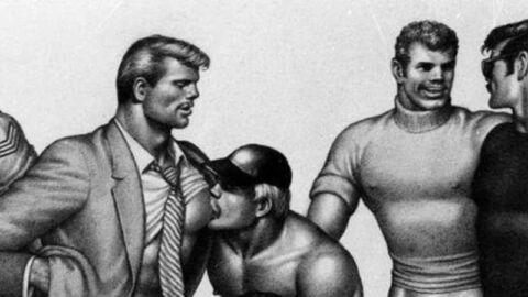 Tom of Finland gay erotica drawing