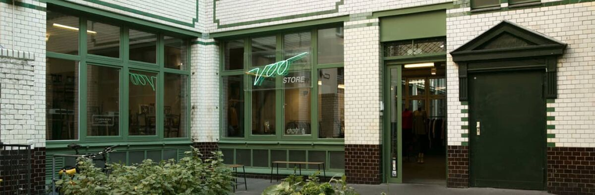 Voo Stores Berlin bricks and mortar store