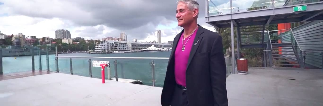 Greg Louganis in Sydney