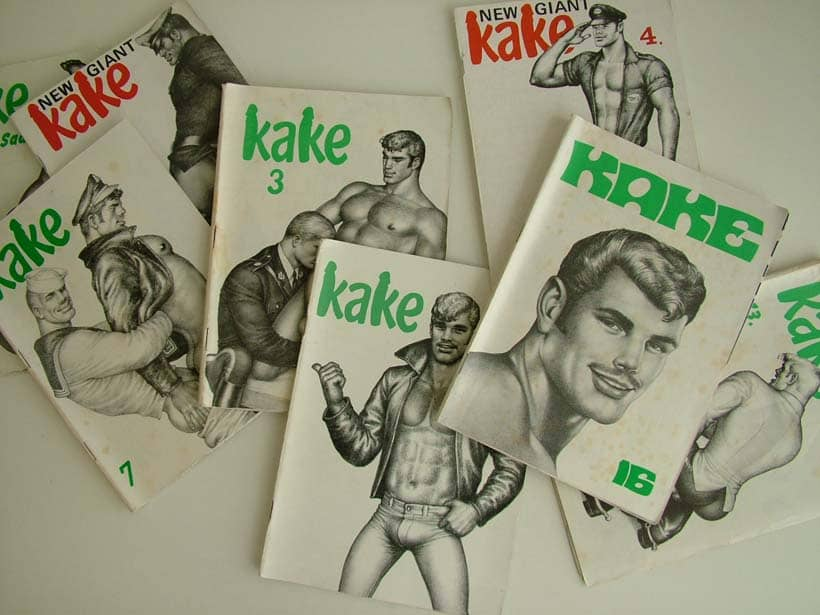 Tom of Finland vintage Kake magazines
