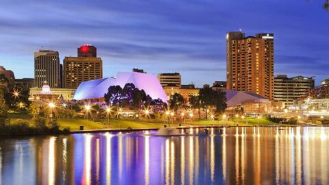Adelaide by night