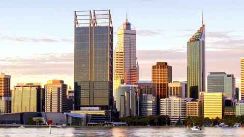 Perth city sky line