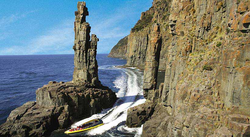 bruny island wilderness cruise hobart