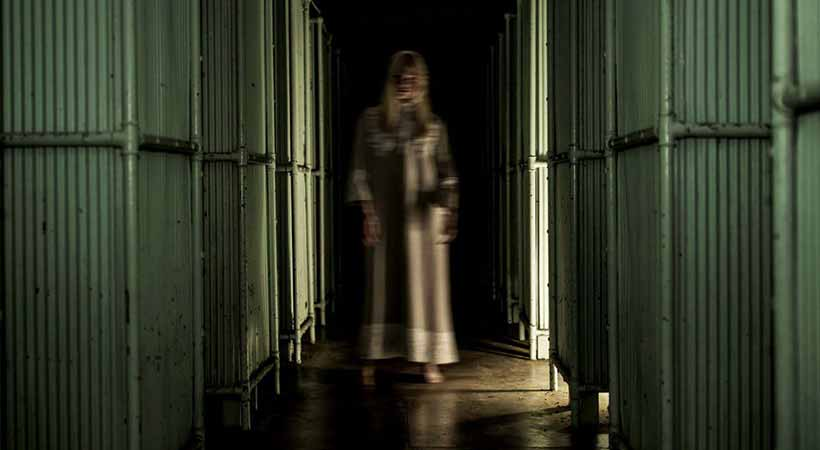 quarantine station ghost tour sydney ghostly woman in corridor