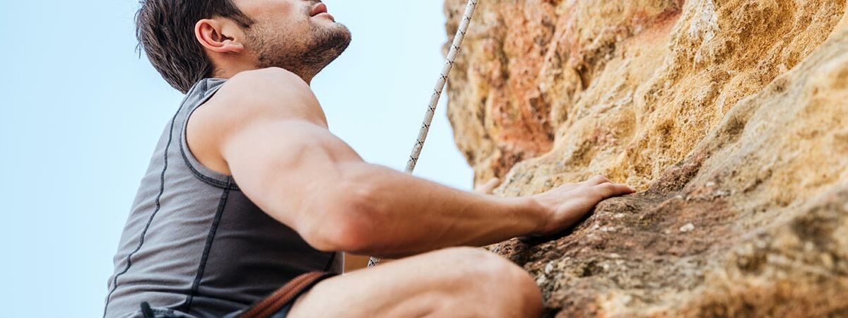 manrock climbing