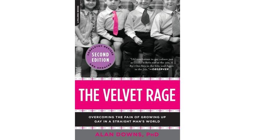 The Velvet Rage book cover