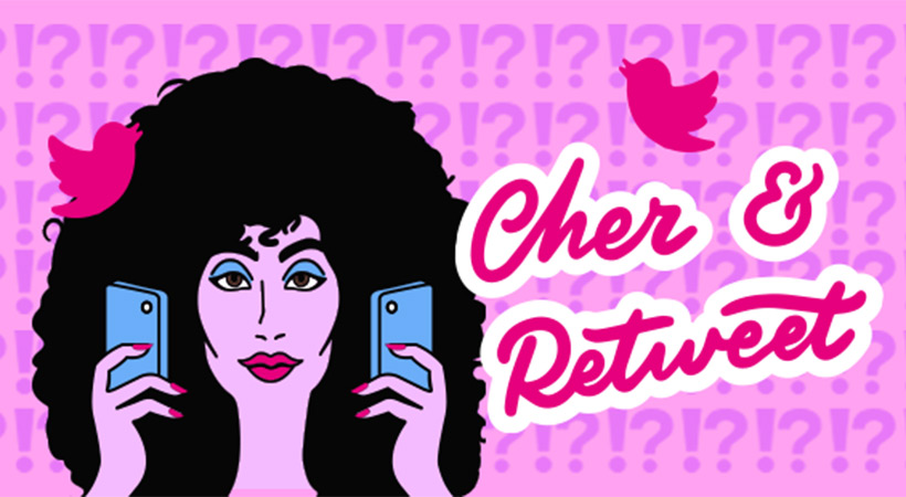 cher and retweet podcast